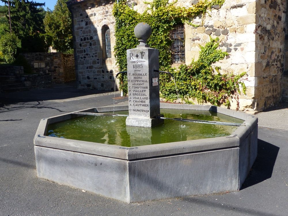 Fontaine en octogone