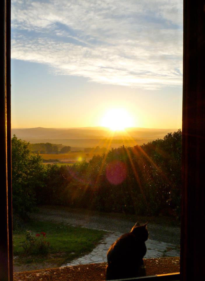 Lever du jour de la fenêtre